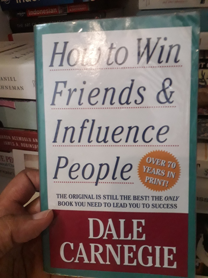 How to win friends and influence people – Dale Carnegie